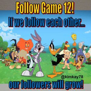 Follow Game 12 ❤️ Please Keep Sharing This❤️